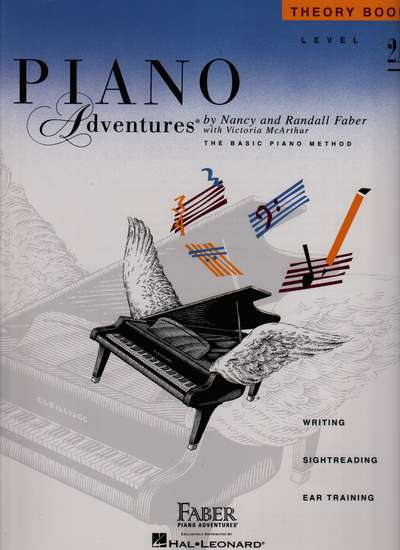 photo of Piano Adventures, Theory Book, Level 2A, 1993 edition