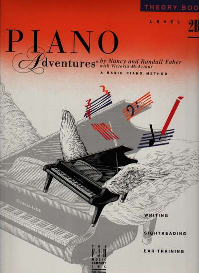 photo of Piano Adventures, Theory Book, Level 2B, 1994 edition