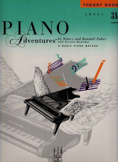 photo of Piano Adventures, Theory Book, Level 3A, 1994 edition