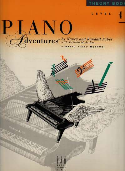 photo of Piano Adventures, Theory Book, Level 4, 1995 edition