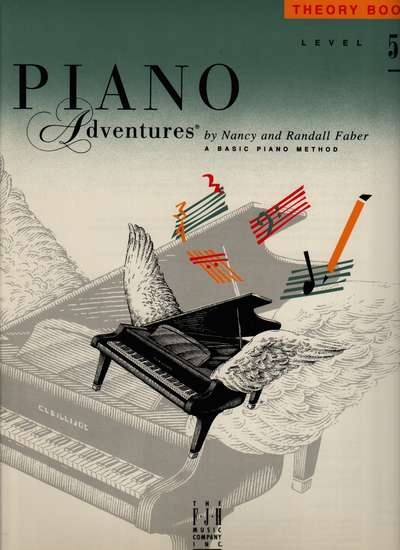 photo of Piano Adventures, Theory Book, Level 5, 1997 edition