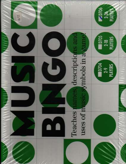 photo of Music Bingo for 2-36 players