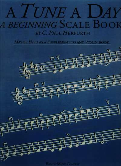 photo of A Tune A Day, A Beginning Scale Book, Violin