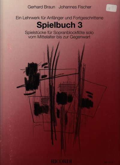photo of Spielbuch III