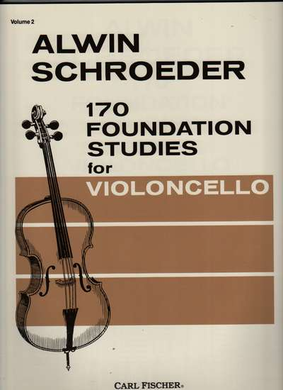 photo of 170 Foundation Studies for Violoncello, Vol. II