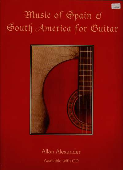 photo of Music of Spain and South America for Guitar