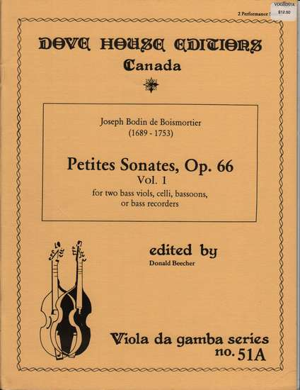 photo of Petites Sonates, Op. 66, Vol. 1