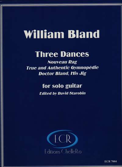 photo of Three Dances: Nouveau Rag, True and Authentic Gymnopédie,& Doctor Bland, His Jig