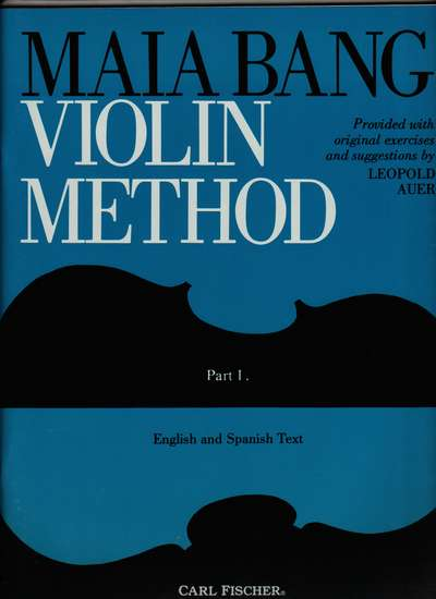 photo of Violin Method, Part I, English and Spanish Text