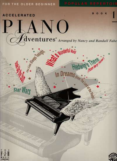 photo of Accelerated Piano Adventures, Popular Repertoire, Book 1