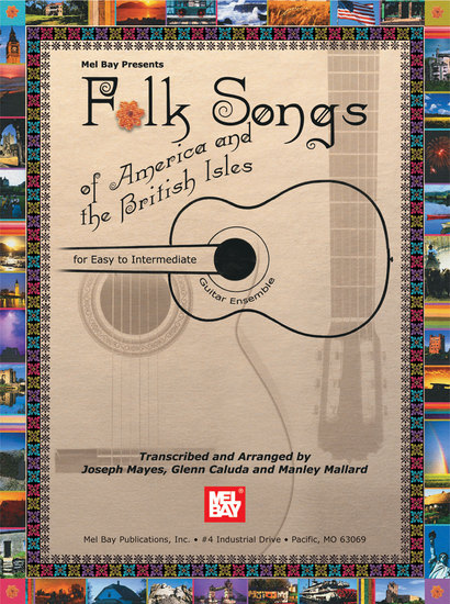 photo of Folk Songs of America and the British Isles, easy to intermediate