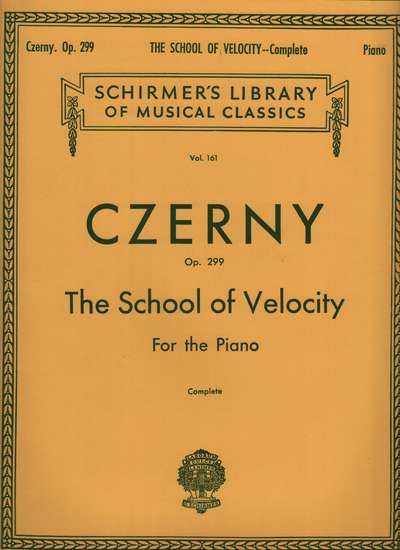photo of The School of Velocity, Op. 299
