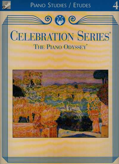 photo of Celebration Series, The Piano Odyssey, Piano Studies/Etudes Book 4