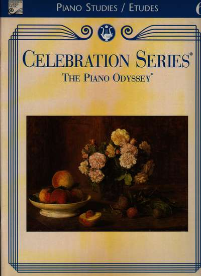 photo of Celebration Series, The Piano Odyssey, Piano Studies/Etudes Book 6