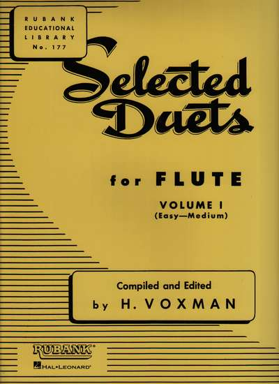 photo of Selected Duets for Flute, Vol. I (Easy-Medium)