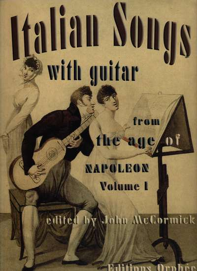 photo of Italian Songs with guitar from the age of Napoleon, Vol. I