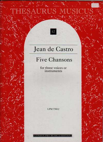 photo of Five Chansons (1575)