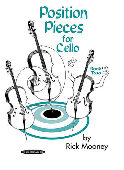 photo of Position Pieces for Cello, Book Two
