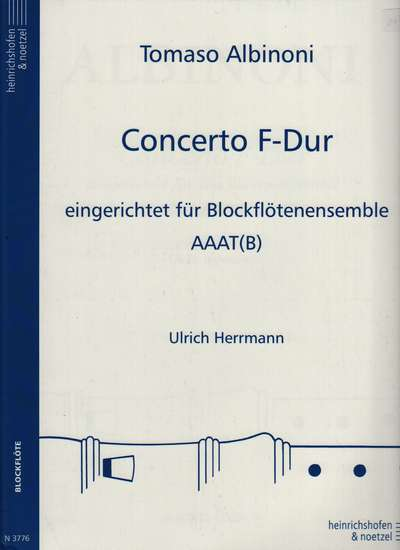 photo of Concerto F-Dur