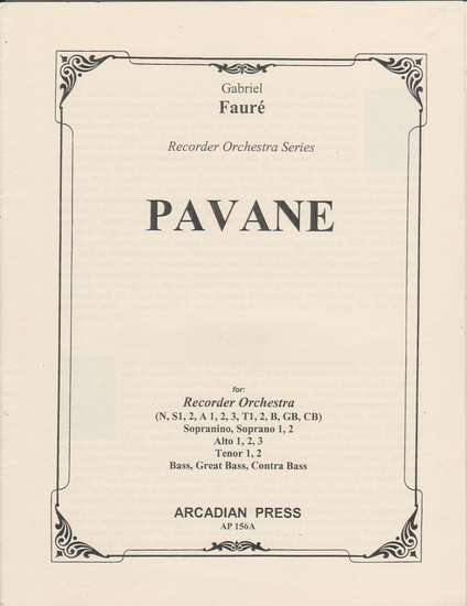 photo of Pavane