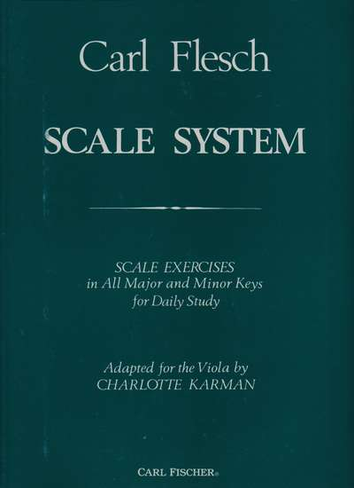 photo of Scale System for Viola