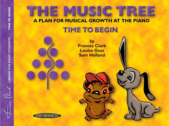 photo of The Music Tree, Time to Begin, Student