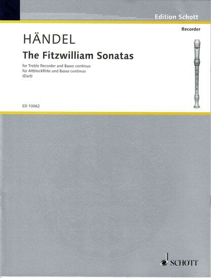photo of The Fitzwilliam Sonatas, HWV 377, movements assembled by Thurston Dart , 367a