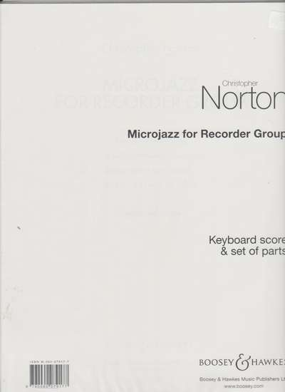 photo of Microjazz for Recorder Group