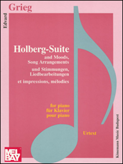photo of Holberg-Suite Op. 40 and Moods, Song Arrangements,  Op. 41, Op. 52,  Op. 73