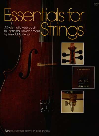 photo of Essentials for Strings, Violin