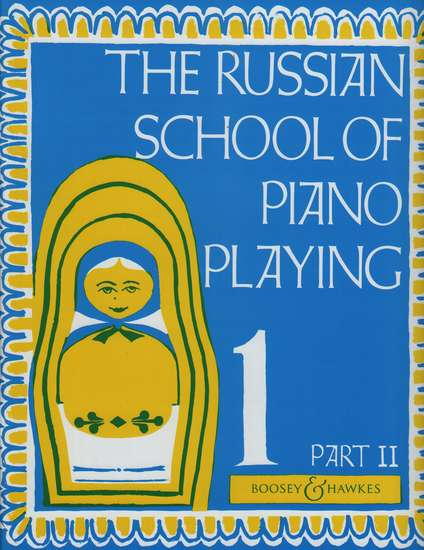 photo of The Russian School of Piano Playing, Book 1 Part II