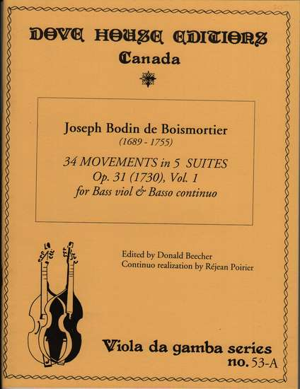 photo of 34 Movements in 5 Suites, Op. 31, Vol. I