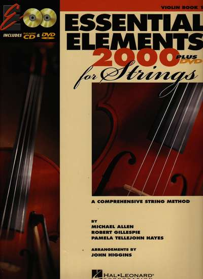 photo of Essential Elements 2000 for Strings Plus DVD, Violin Book I