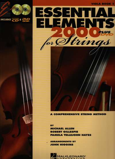 photo of Essential Elements 2000 for Strings Plus DVD, Viola Book I