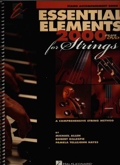 photo of Essential Elements 2000 for Strings Plus DVD, Piano Acc.  Book I