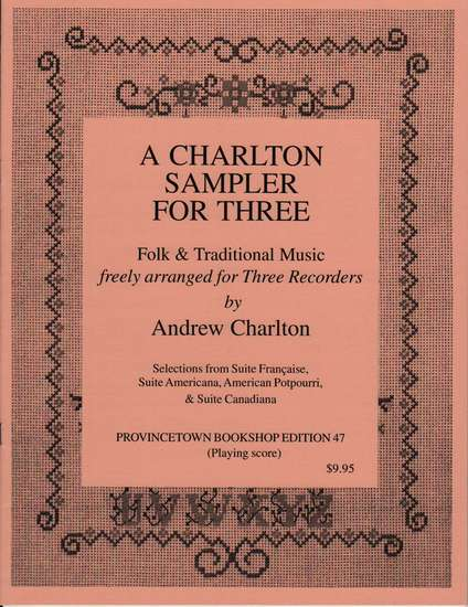 photo of A Charlton Sampler for Three, Selections from Folk Suites