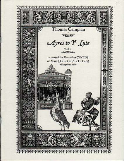 photo of Ayres to Ye Lute, Vol. 1