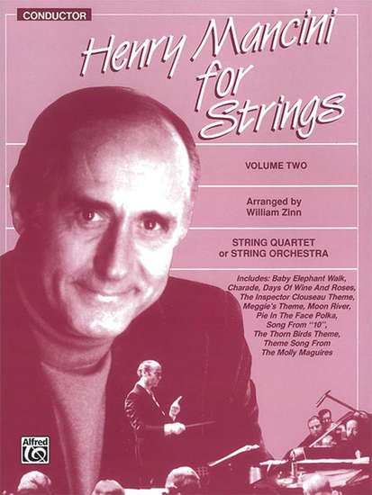 photo of Henry Mancini for Strings, Volume 2, conductor