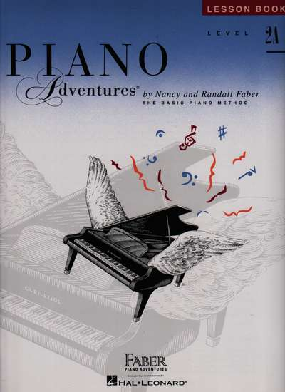 photo of Piano Adventures, Lesson Book, Level 2A, 1997 edition