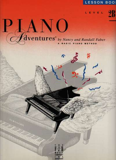 photo of Piano Adventures, Lesson Book, Level 2B, 1994 edition