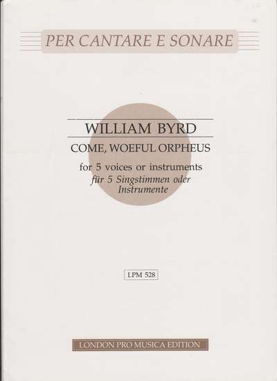 photo of Come, Woeful Orpheus