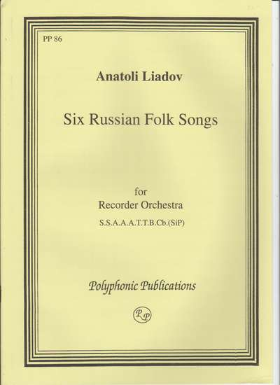 photo of Six Russian Folksongs