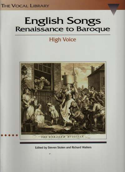 photo of English Songs, Renaissance to Baroque, High Voice
