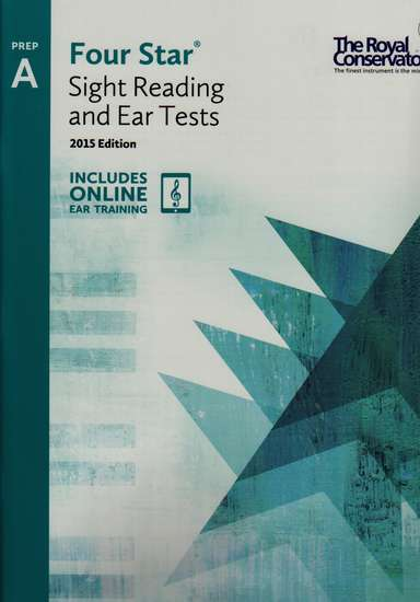 photo of Four Star Sight Reading and Ear Tests, Prep A, 2015 Edition