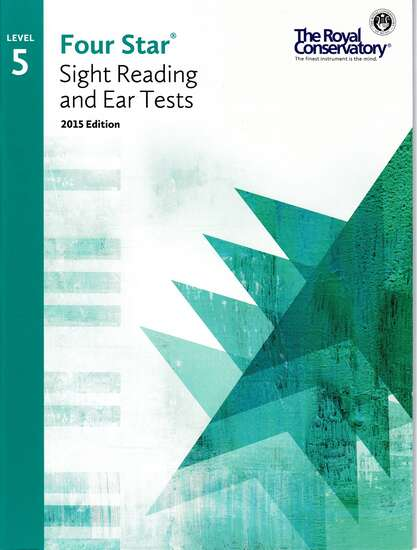 photo of Four Star Sight Reading and Ear Tests, Book 5
