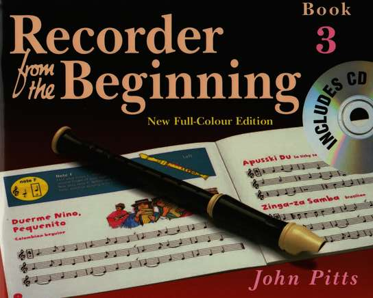photo of Recorder from the Beginning, Book 3