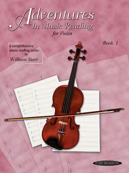 photo of Adventurers in Music Reading for Violin, Book I