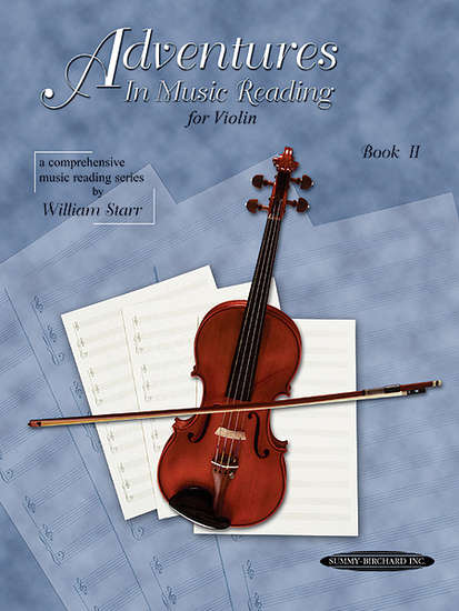 photo of Adventurers in Music Reading for Violin, Book II