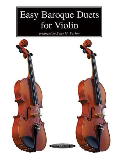 photo of Easy Baroque Duets for Violin