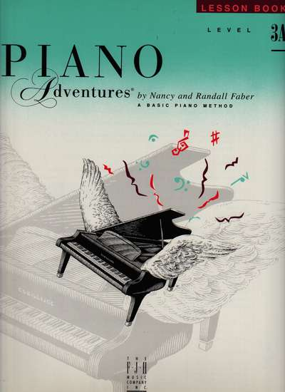 photo of Piano Adventures, Lesson Book, Level 3A, 1993 edition